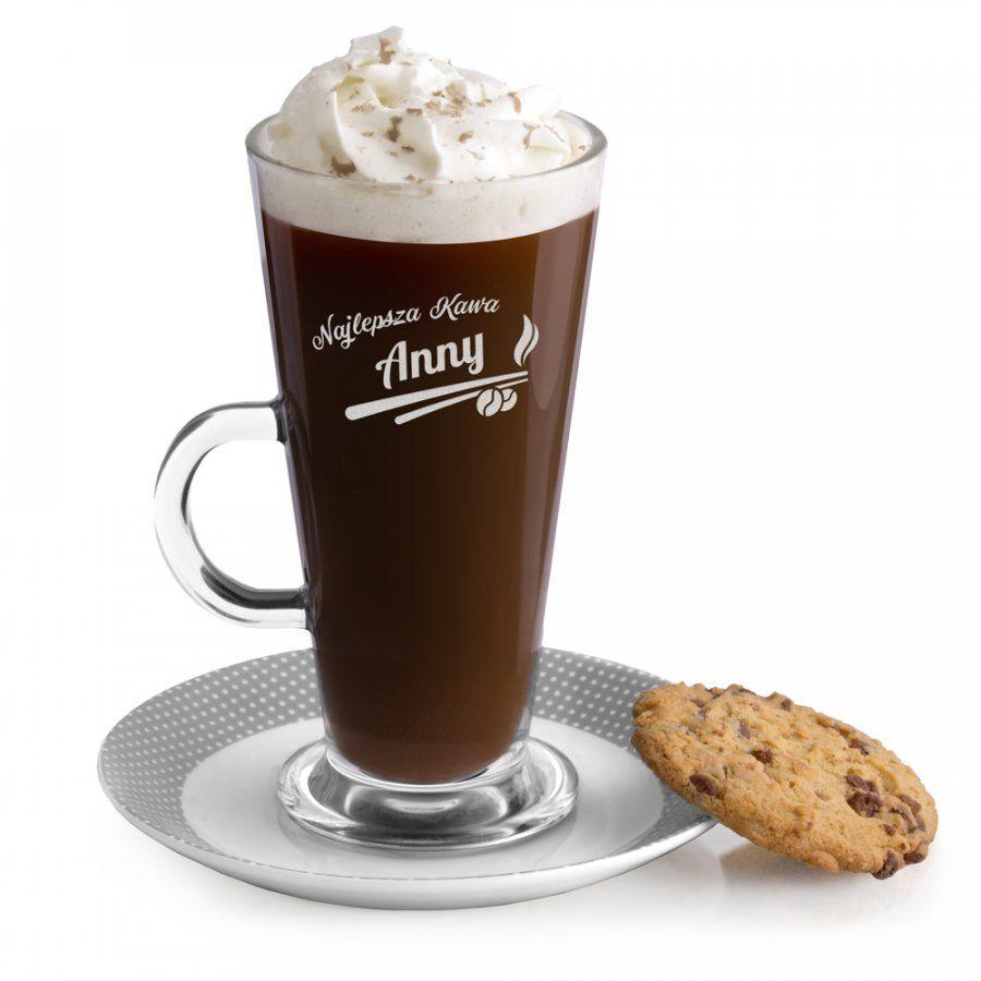 Szklanka do latte z grawerem dla niej na imieniny