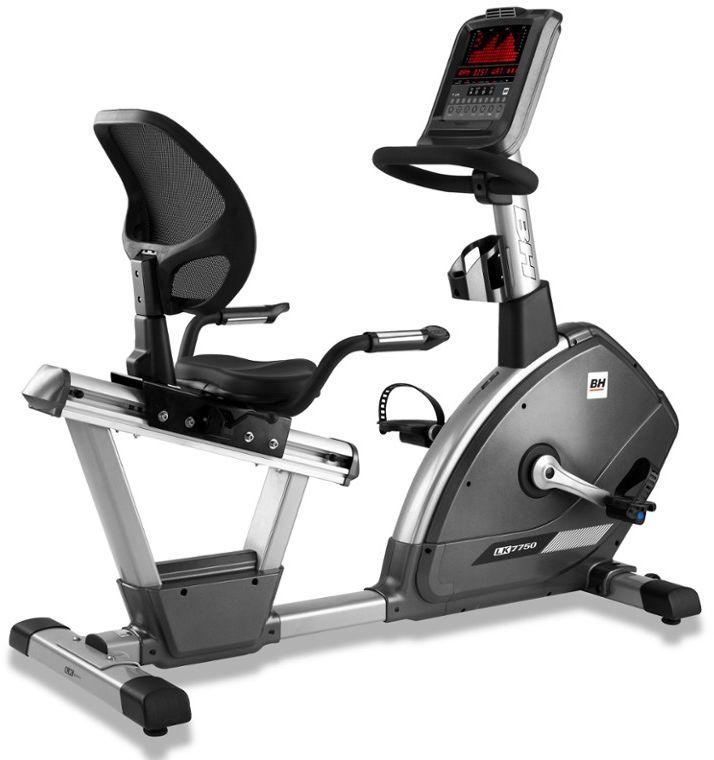 "Rower Treningowy Elektromagnetyczny Poziomy LK7750 16"" LED H775 BH Fitness"