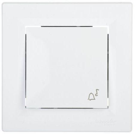 ASFORA Przycisk dzwonek biały EPH0800121
