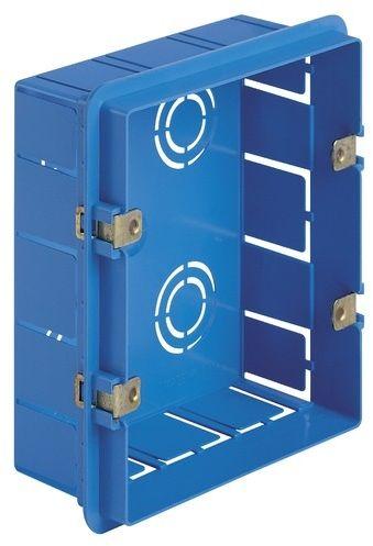 Puszka montażowa podtynkowa 6M (3+3) niebieska
