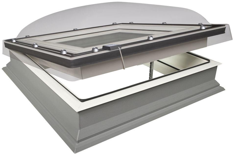 Okno do płaskiego dachu DEC-C U8 (VSG) Z-Wave elektryczne Fakro