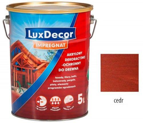 LUXDECOR IMPREGNAT DO DREWNA CEDR 5L