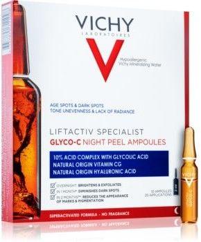 Vichy Liftactiv Specialist Glyco-C ampułki przeciw przebarwieniom na noc 10 x 2 ml