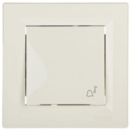 ASFORA Przycisk dzwonek kremowy EPH0800123