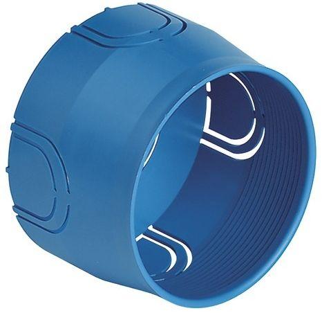 Puszka montażowa podtynkowa ø 60mm niebieska