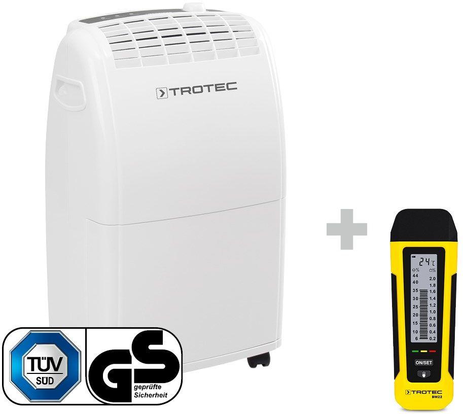 Osuszacz powietrza TTK 75 E + Miernik wilgotności BM21