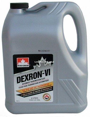 Olej do automatycznych skrzyń biegów DEXTRON ATF VI 4l Dodge