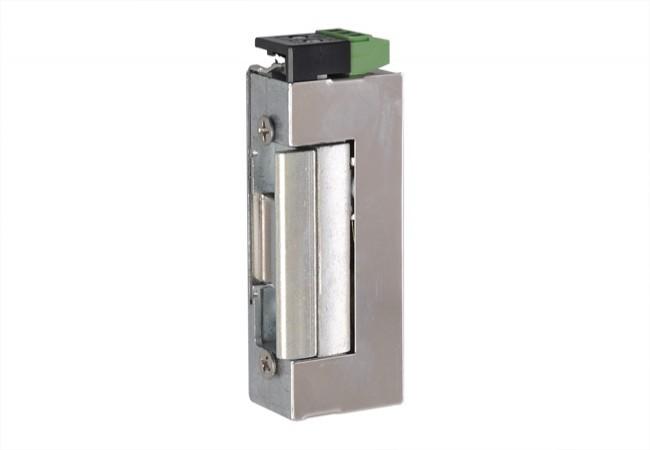 Elektrozaczep effeff 37RR-E91 NO, rewersyjny z monitoringiem, 12V DC (NO- otwarty bez prądu)