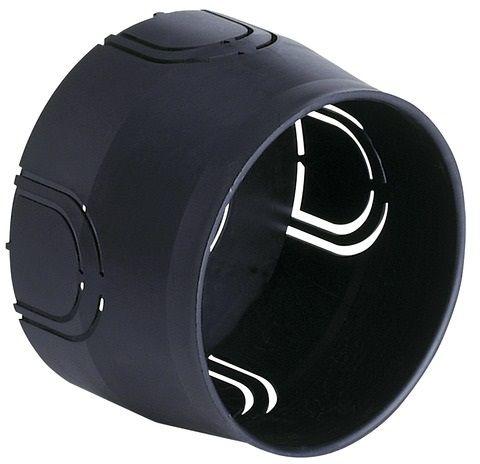 Puszka montażowa podtynkowa ø 60mm czarna