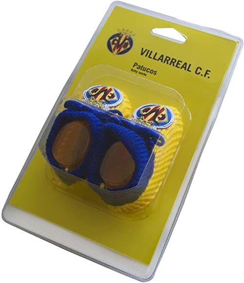 Villarreal CF Skarpety patvil, żółte/niebieskie, rozmiar uniwersalny