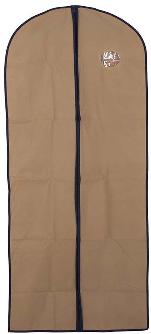 Pokrowiec na ubrania beżowy 60 x 137 - Beżowy