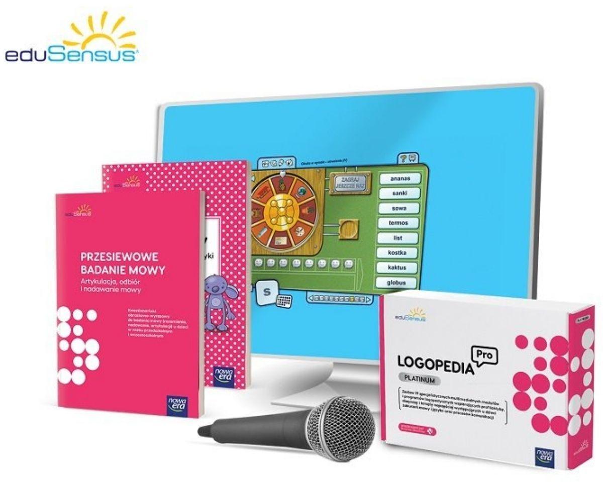 eduSensus Logopedia Pro - pakiet Platinum & Travel Kit: Z-Vibe+5 końc.