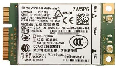 Modem 3G Dell 5570 GPS HSPA+ 5440 7440