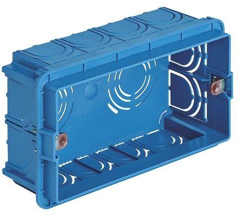 Puszka montażowa 4M niebieska