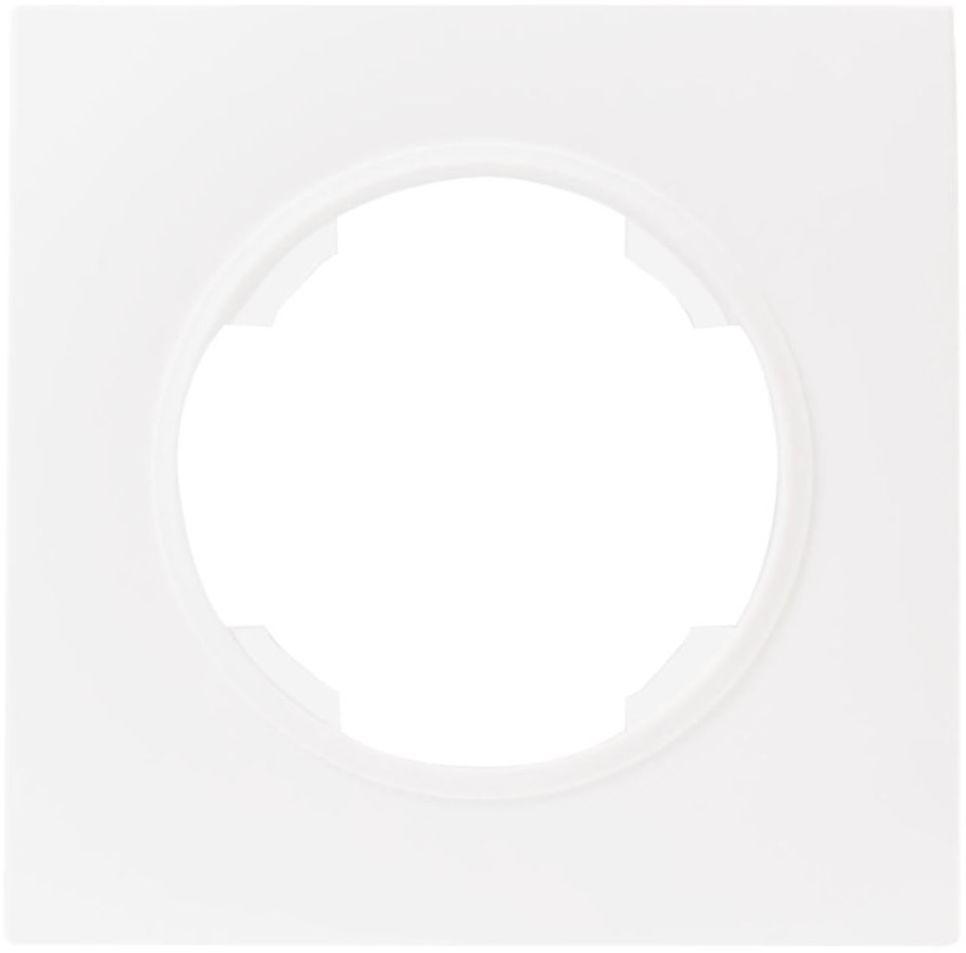 Ramka pojedyncza SOUL biały DMP SOLID