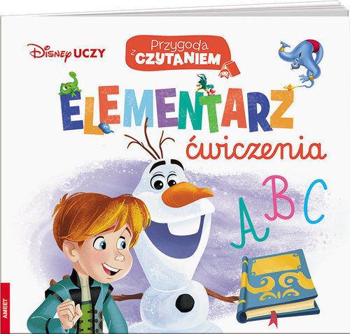 Disney Uczy Przygoda z czytaniem Elementarz Ćwiczenia ZAKŁADKA DO KSIĄŻEK GRATIS DO KAŻDEGO ZAMÓWIENIA