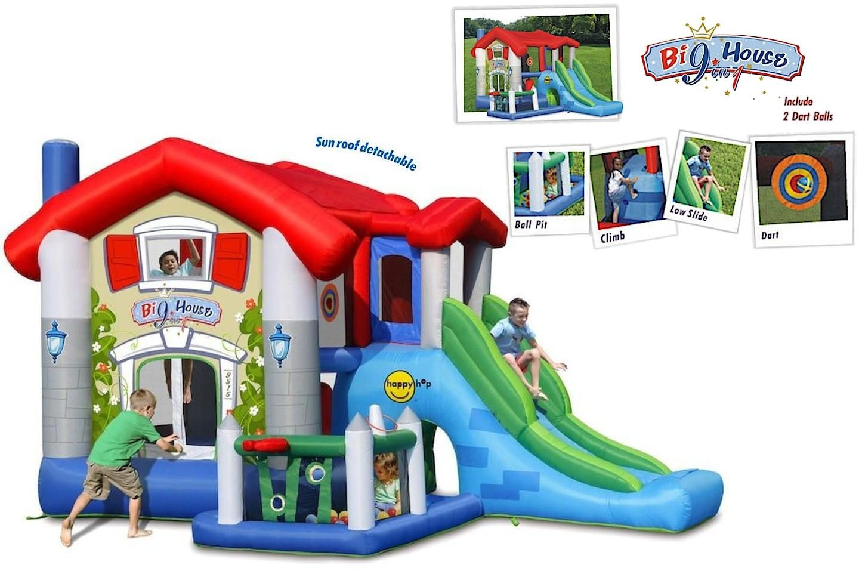 Dmuchany plac zabaw - Big House - Happy Hop