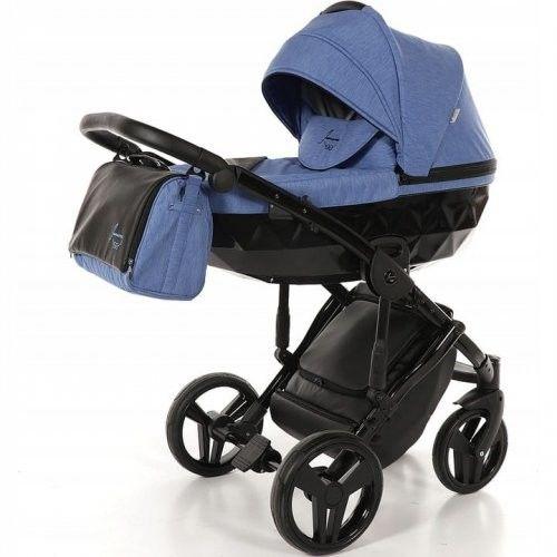 Wózek wielofunkcyjny 4w1 TAKO Junama Diamond - Blue/Black 09