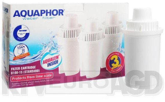 Zestaw Filtr wody 3szt do dzbanka filtrującego Aquaphor