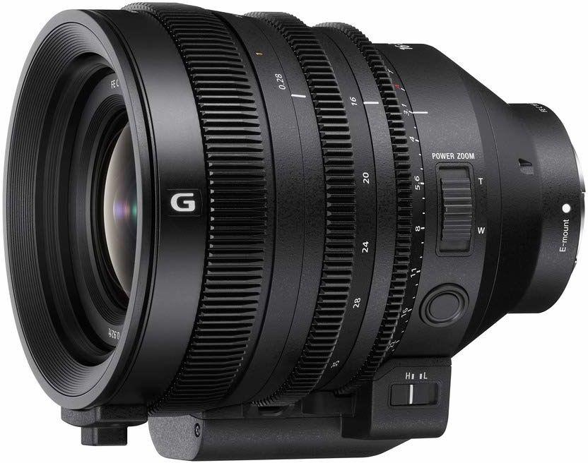 Sony SELC1635G pełnoklatkowy obiektyw zmiennoogniskowy FE C 16-35 mm T3.1 G (seria inema, ultra szerokokątny, obiektyw zoom) czarny