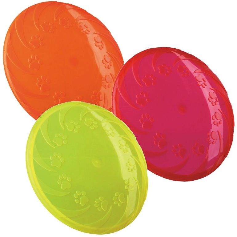 TRIXIE - TX-33505 Frisbee TPR dla psa 18cm mix kolorów