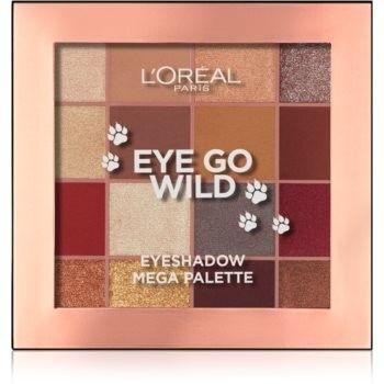 LOréal Paris Eye Go Wild Eyeshadow Mega Palette paleta cieni do powiek 17 g