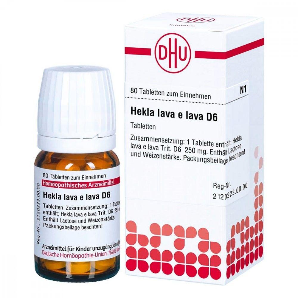 Hekla lava e lava D 6 Tabletten