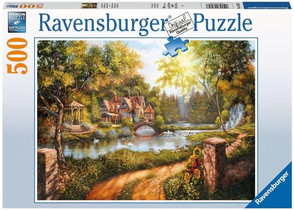Ravensburger - Puzzle Domek nad wodą 500 el. 165827