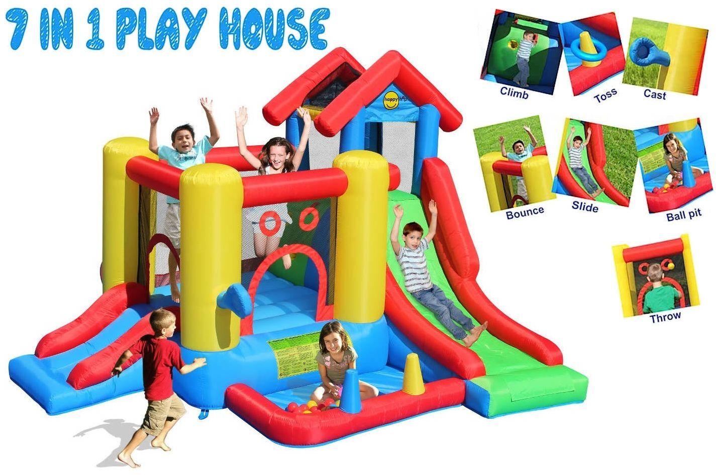 Dmuchane Centrum Zabawy 7w1 - Happy Hop