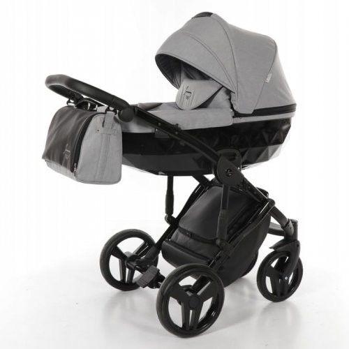 Wózek wielofunkcyjny 4w1 TAKO Junama Diamond - Grey/Black 07