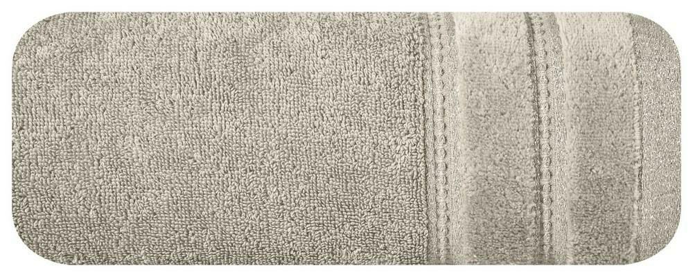Ręcznik Glory 70x140 beżowy 500g/m2 Eurofirany