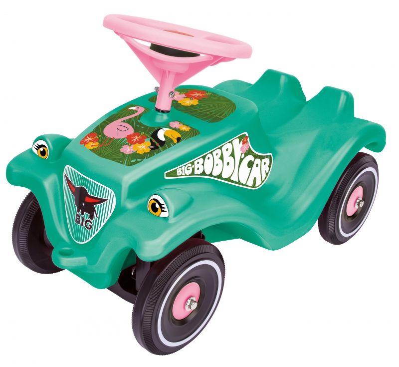 Jeździk Odpychacz Big Bobby Car Classic Flamingo Klakson LK