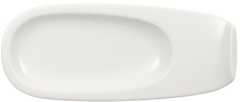 Villeroy & Boch Urban Nature Mokka/Espresso spodek, 19 x 8 cm, porcelana premium, biały