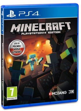 Gra PS4 Minecraft: Edycja PlayStation 4.Realizujemy zamówienia online