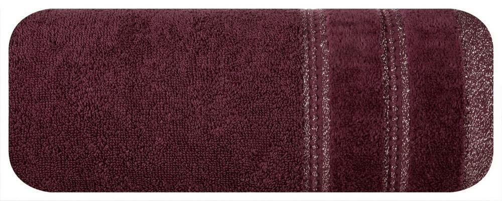 Ręcznik Glory 70x140 bordowy 500g/m2 Eurofirany