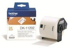 Brother DK-11202 białe etykiety papierowe 62 x 100 mm 300 szt, oryginalne