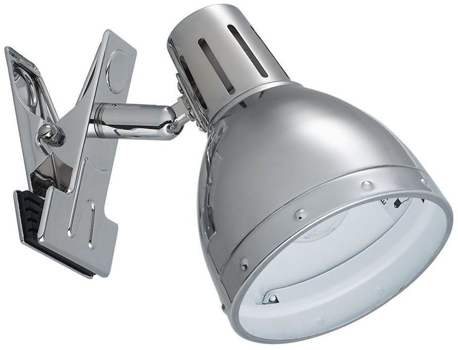 Lampka z klipsem KLAMMA chrom E14 ORIVA