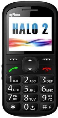 Telefon komórkowy MYPHONE Halo 2 Czarny. DOSTARCZAMY JESZCZE DZIŚ ZA 0 ZŁ NA ZAMÓWIENIA OD 199 ZŁ! DOGODNE RATY NIE CZEKAJ!