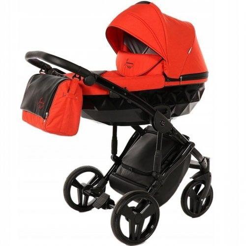 Wózek wielofunkcyjny 4w1 TAKO Junama Diamond - Red/Black 03