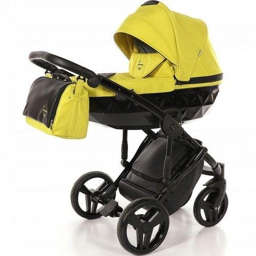 Wózek wielofunkcyjny 4w1 TAKO Junama Diamond - Lime/Black 02