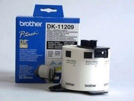 Brother DK-11209 białe etykiety papierowe 29 x 62 mm 800 szt, oryginalne