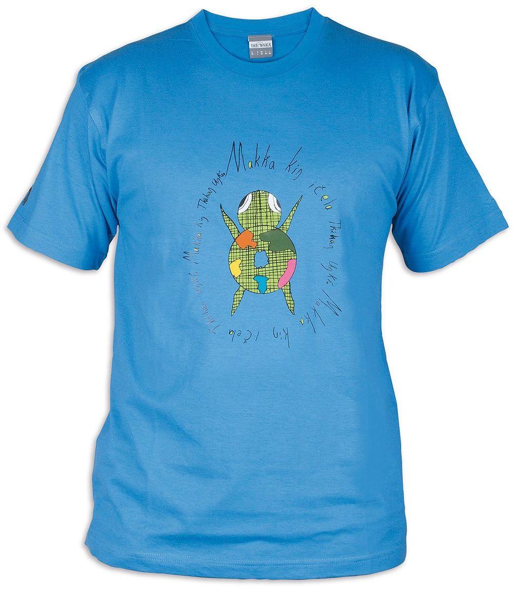 Tatonka męski T-shirt Makha, french blue, L, C162_773