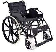 Składany aluminiowy wózek inwalidzki