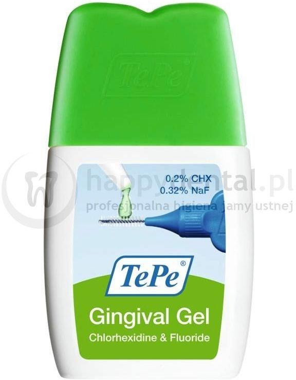 TePe Gingival Gel 20ml - antybakteryjny żel z chlorheksydyną do czyszczenia przestrzeni międzyzębowych
