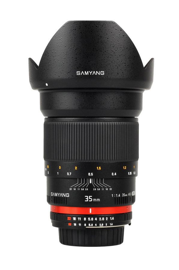 Samyang 35mm F1.4 AS UMC - obiektyw do Sony E Samyang 35mm F1.4 AS UMC