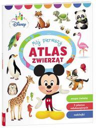 Disney Maluch Mój pierwszy atlas zwierząt ZAKŁADKA DO KSIĄŻEK GRATIS DO KAŻDEGO ZAMÓWIENIA
