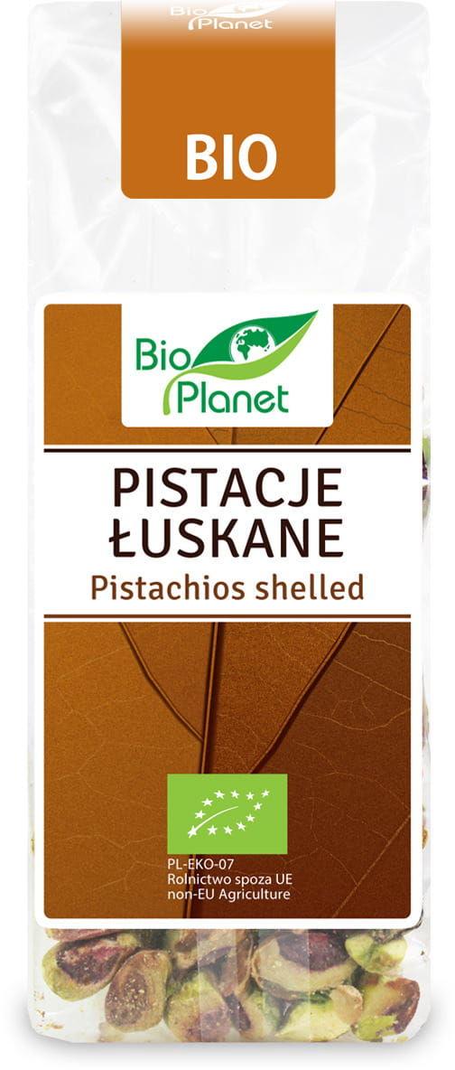 Pistacje surowe niesolone bio 75 g - bio planet