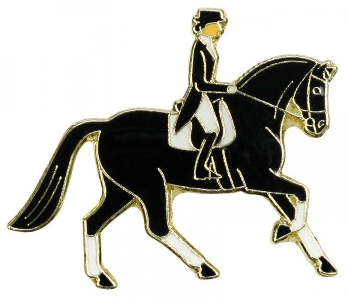 Znaczek ozdobny 75 - Dressage Rider - HappyRoss