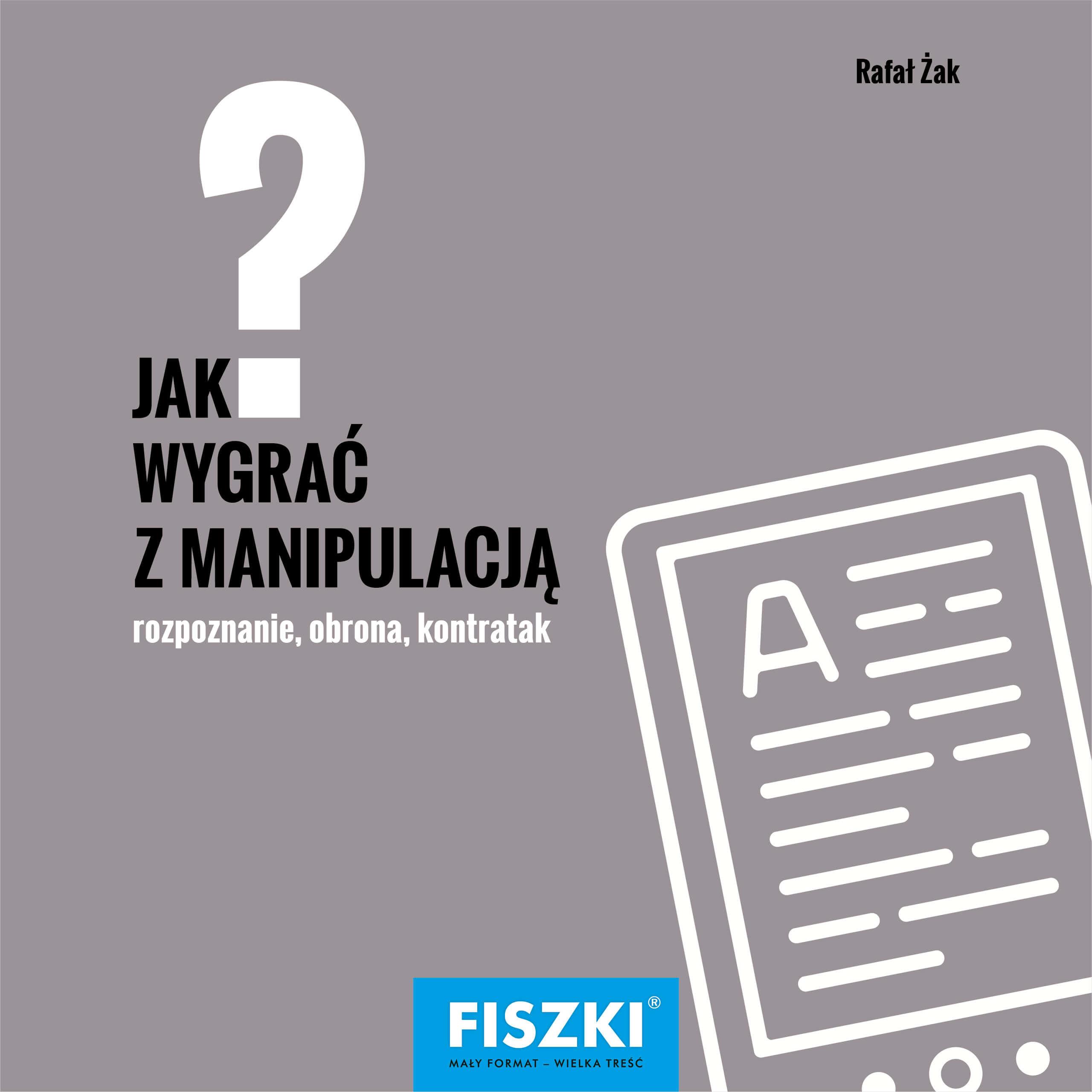 E-BOOK - Jak wygrać z manipulacją?
