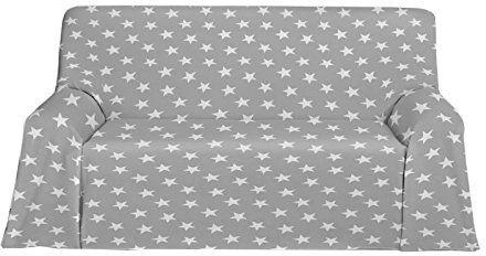 Martina Home narzuta polarowa, uniwersalna, tkanina, szara, 270 x 230 x 3 cm